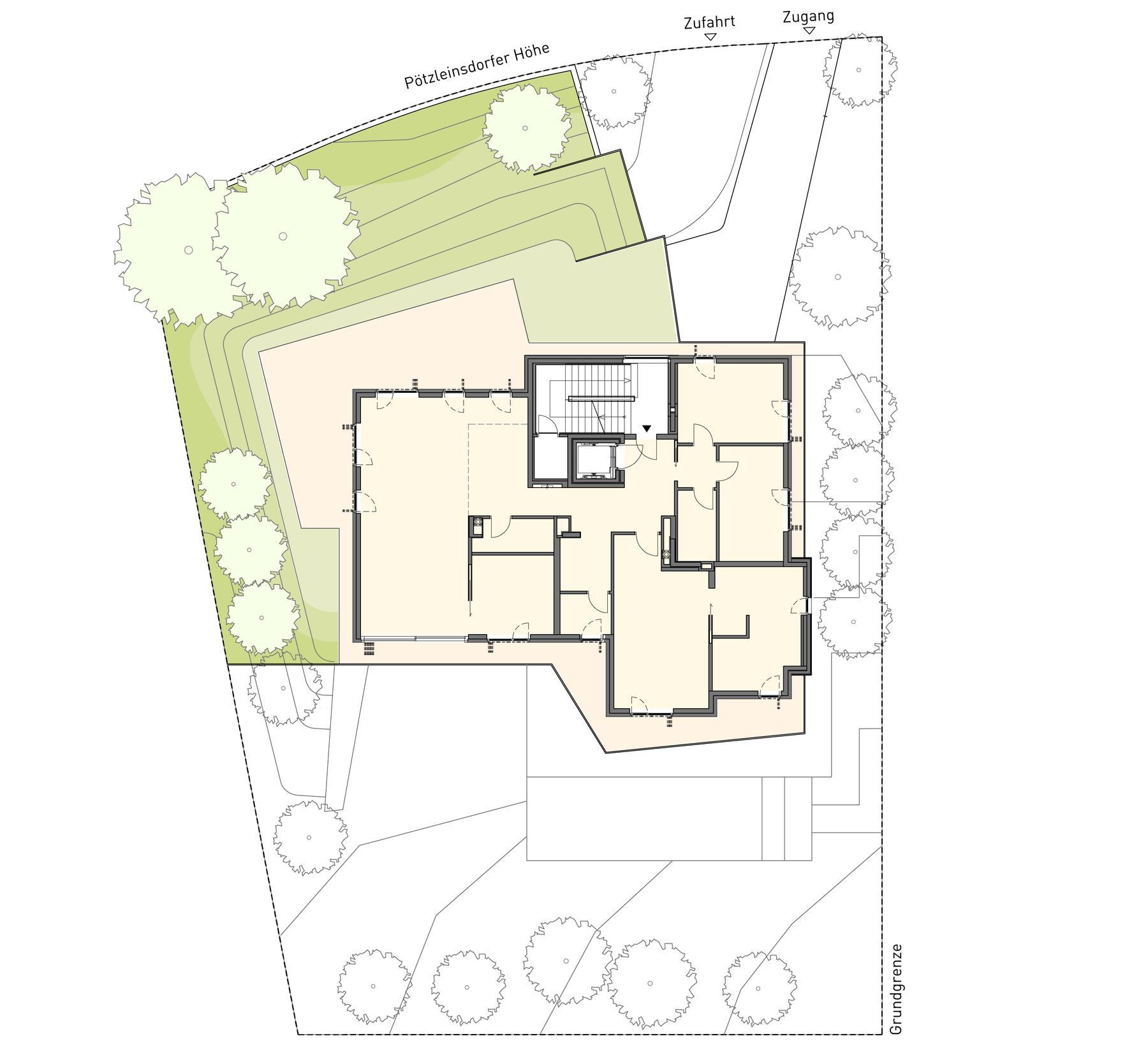 Luxus erstbez ge 1180 wien 2 selected homes - Grundriss garten ...